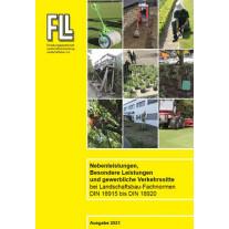 Besondere Leistungen, Nebenleistungen und gewerbliche Verkehrssitte bei Landschaftsbau-Fachnormen DIN 18915 bis DIN 18920,  2021 (Kombipaket)