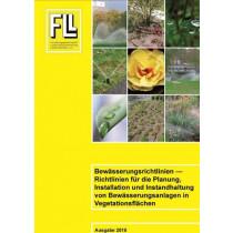 Bewässerungsrichtlinien – Richtlinien für die Planung, Installation und Instandhaltung von Bewässerungsanlagen in Vegetationsflächen, 2015 (Broschüre)