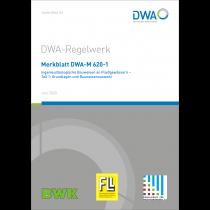 DWA-M 620-1 - Bauweisen (6/2020) (Broschüre)