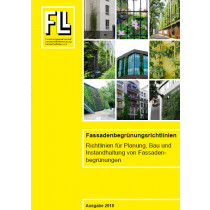 Fassadenbegrünungsrichtlinien, 2018