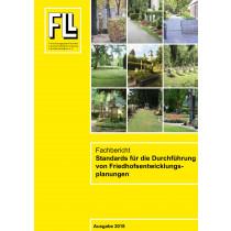 Fachbericht Standards für die Durchführung von Friedhofsentwicklungsplanungen, 2018 (Broschüre)