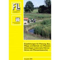 Empfehlungen für Planung, Bau, Pflege und Betrieb von Pflanzenkläranlagen, 2008 (Broschüre)