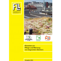 Hinweise zur Pflege und Wartung von begrünten Dächern, 2002 (Broschüre)