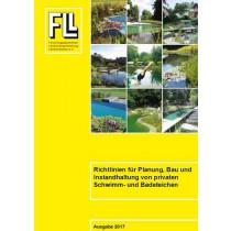 Richtlinien für Planung, Bau und Instandhaltung von privaten Schwimm- und Badeteichen, 2017 (Broschüre)