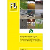 Reitplatzempfehlungen – Empfehlungen für Planung, Bau und Instandhaltung von Reitplätzen, 2014 (Broschüre)