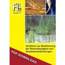 Verfahren Rhizomfestigkeit, 2008 (Downloadversion)