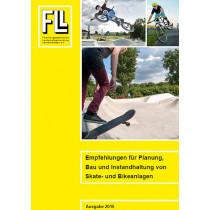 Empfehlungen für Planung, Bau und Instandhaltung von Skate- und Bikeanlagen, 2016 (Broschüre)