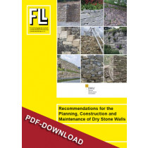 Recommendations Dry Stone Walls, 2012 (Downloadversion)