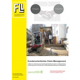 Kundenorientiertes Claim-Management (Forschungsbericht, Broschüre)