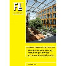 Innenraumbegrünungsrichtlinien – Richtlinien für die Planung, Ausführung und Pflege von Innenraumbegrünungen, 2011 (Broschüre)