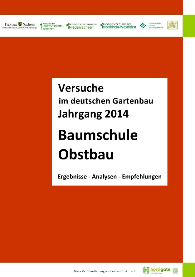 Coverbild Baumschule Obstbau